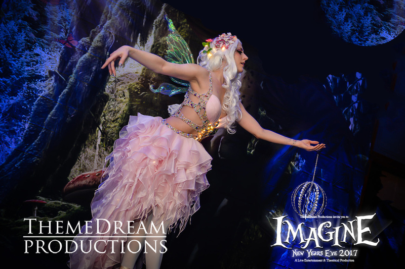 Catalyst Arts fantasy variety entertainers at Imagine NYE by Theme Dream Productions in SF