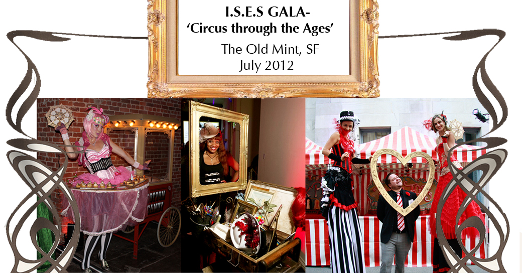 Circus themed Gala for Special Events Society - Catalyst Arts Entertainment