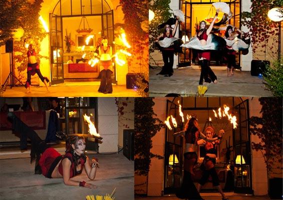 fire dance show catalyst arts