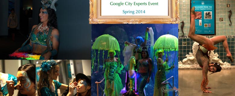 aquatic entertainment package for google by Catalyst Arts