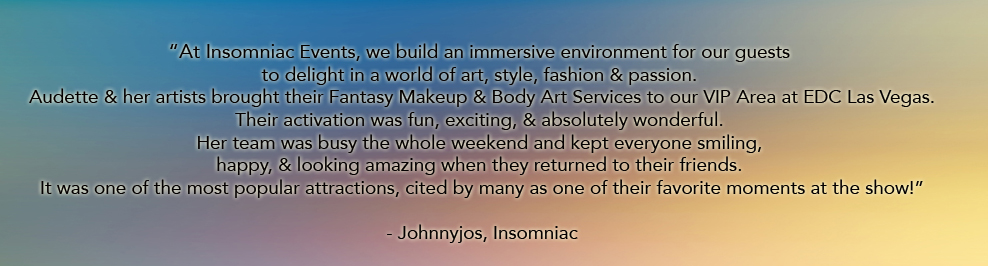 insomniac testimonial for catalyst arts