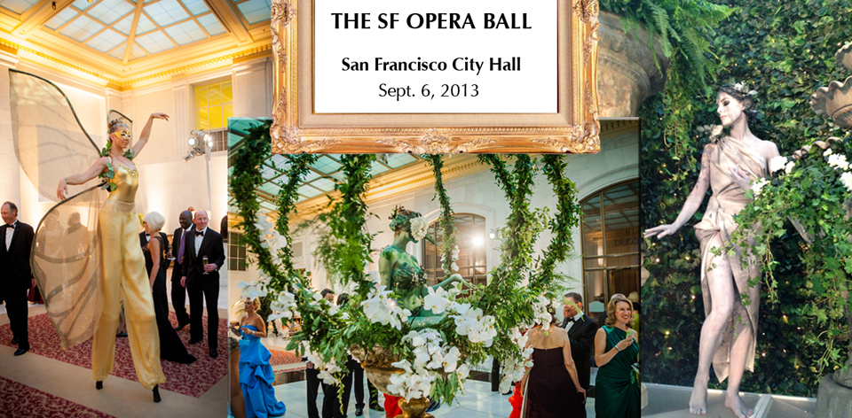 San Francisco Opera Ball Gala Entertainment by Catalyst Arts