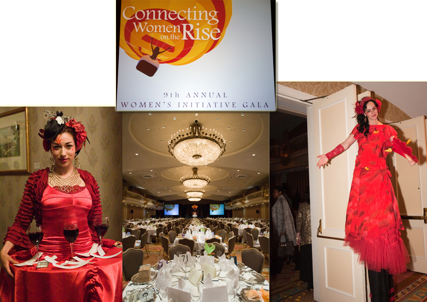 Women's Initiative Gala- performers by Catalyst Arts Entertainment