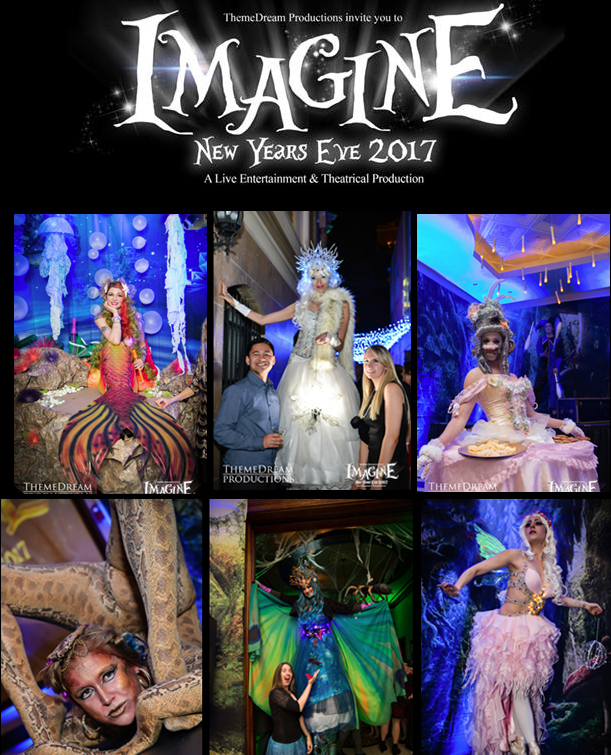 Catalyst arts variety entertainers at Imagine NYE Party in san francisco