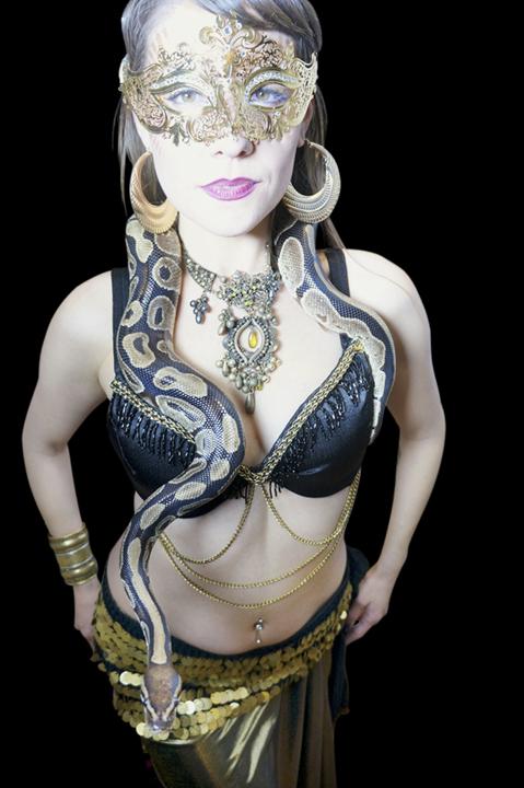 Masquerade snake dancer Cassandra- by Catalyst Arts