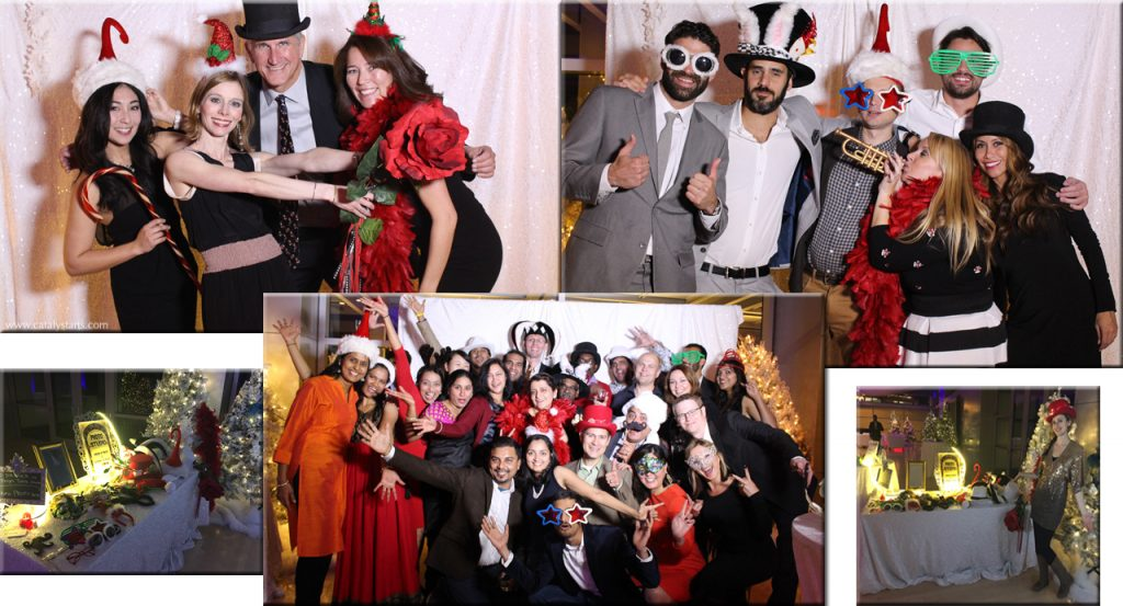 Holiday Party Photo Studio by Catalyst Arts Entertainment in San Francisco, CA