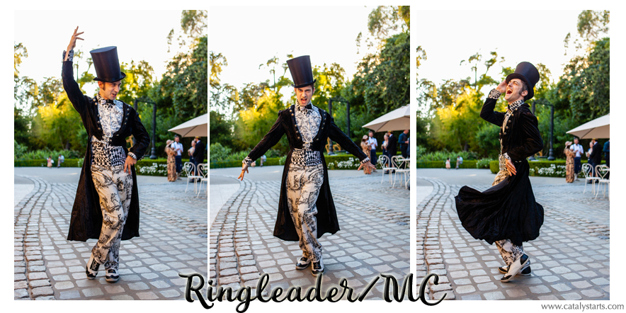 Ringleader MC from Catalyst Arts California