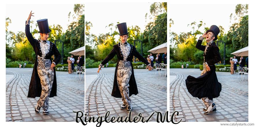 Ringleader MC from Catalyst Arts California