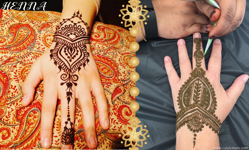 Bay Area Henna Artists by Catalyst Arts Interactive Entertainment agency