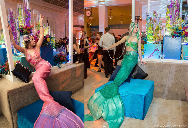 Body painted Mermaids by Catalyst Arts photo by Sherman Chu