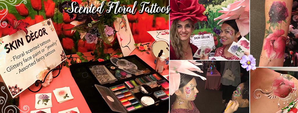 Catalyst Arts floral skin decor glam station