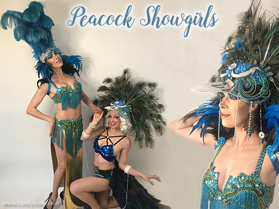 Catalyst Arts Peacock Show Girls