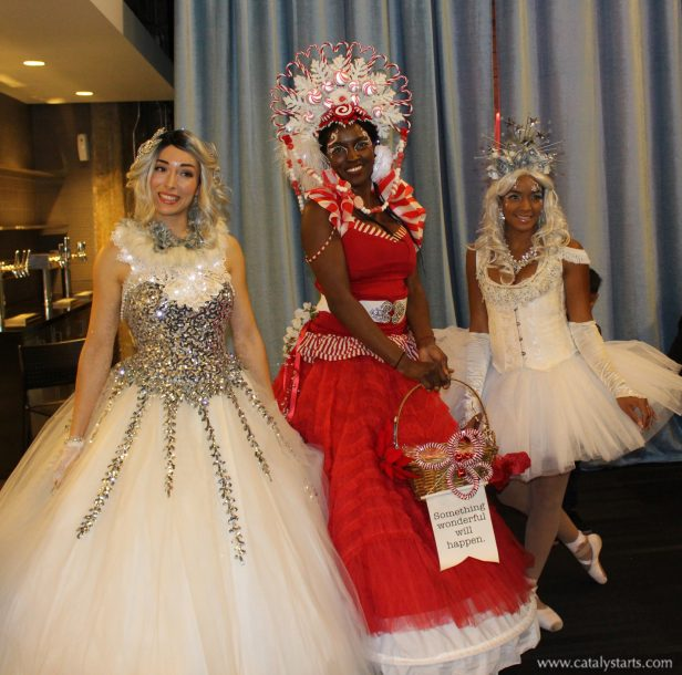 Holiday Princesses by Catalyst Arts Entertainment in California - www.catalystarts.com