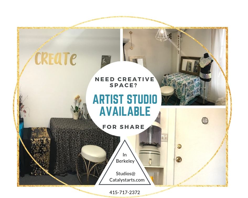 Artistic Studio Share in Berkeley