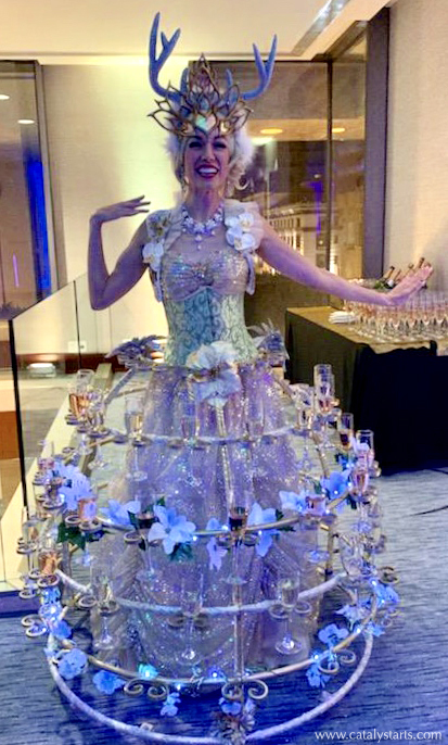 Fairy Champagne Dress by Catalyst Arts