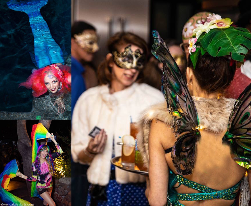 Private Magical NYE party with Catalyst Arts Entertainment