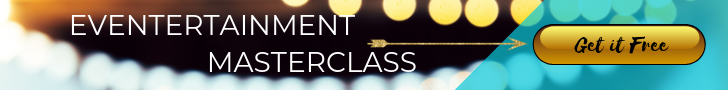 Eventertainment Masterclass Banner from Catalyst Arts