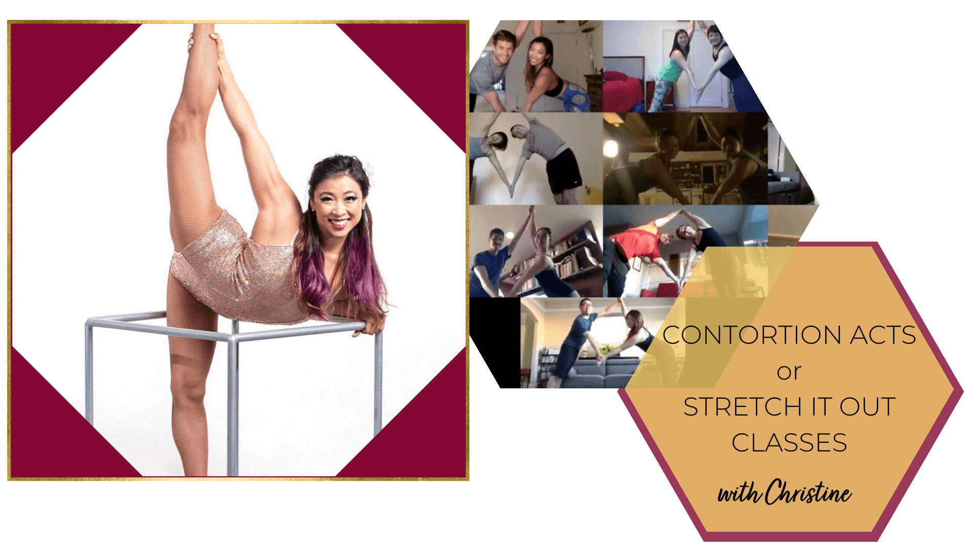 Virtual Contortionist & Stretch Classes with Catalyst Arts Virtual