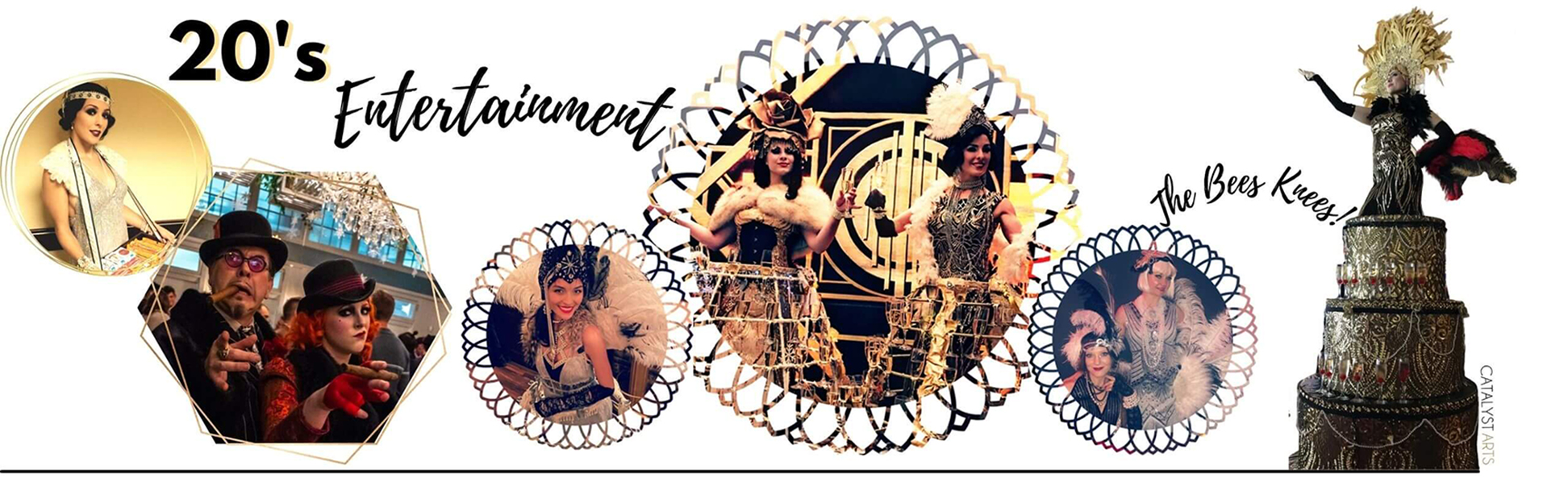 20's Gatsby Entertainment by Catalyst Arts in California