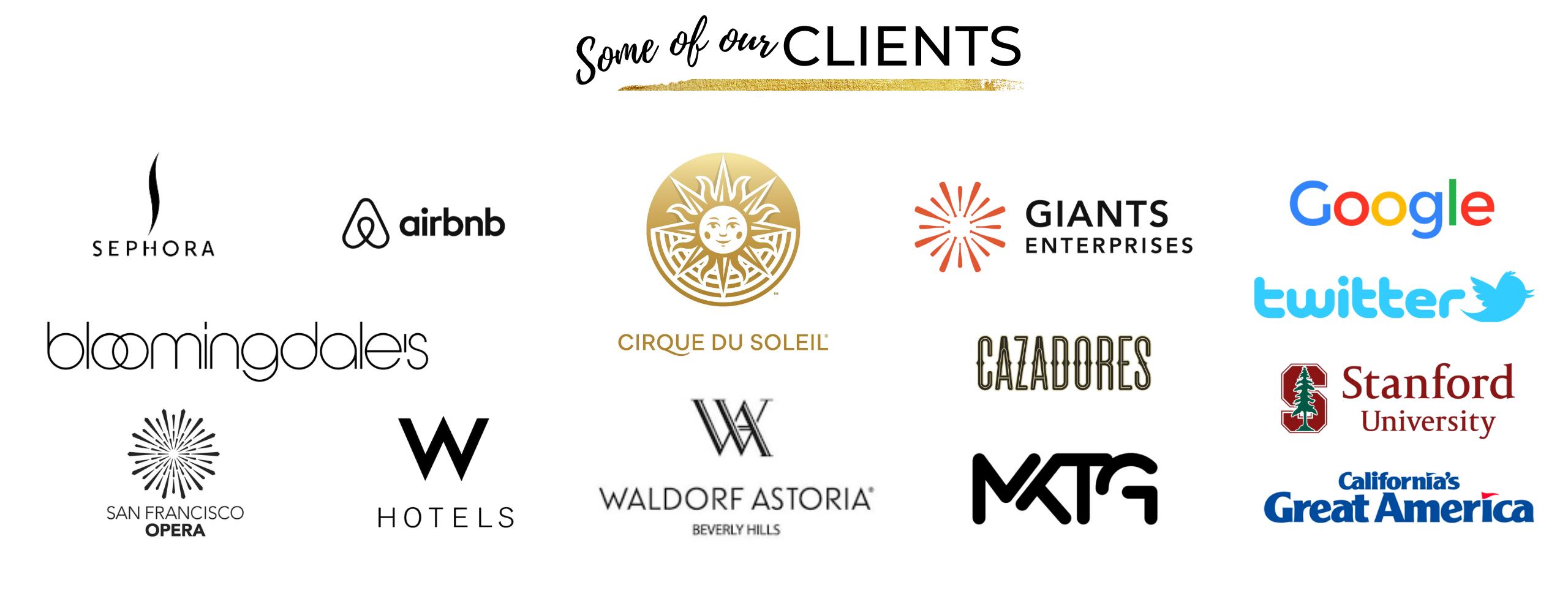 Catalyst Arts select client list