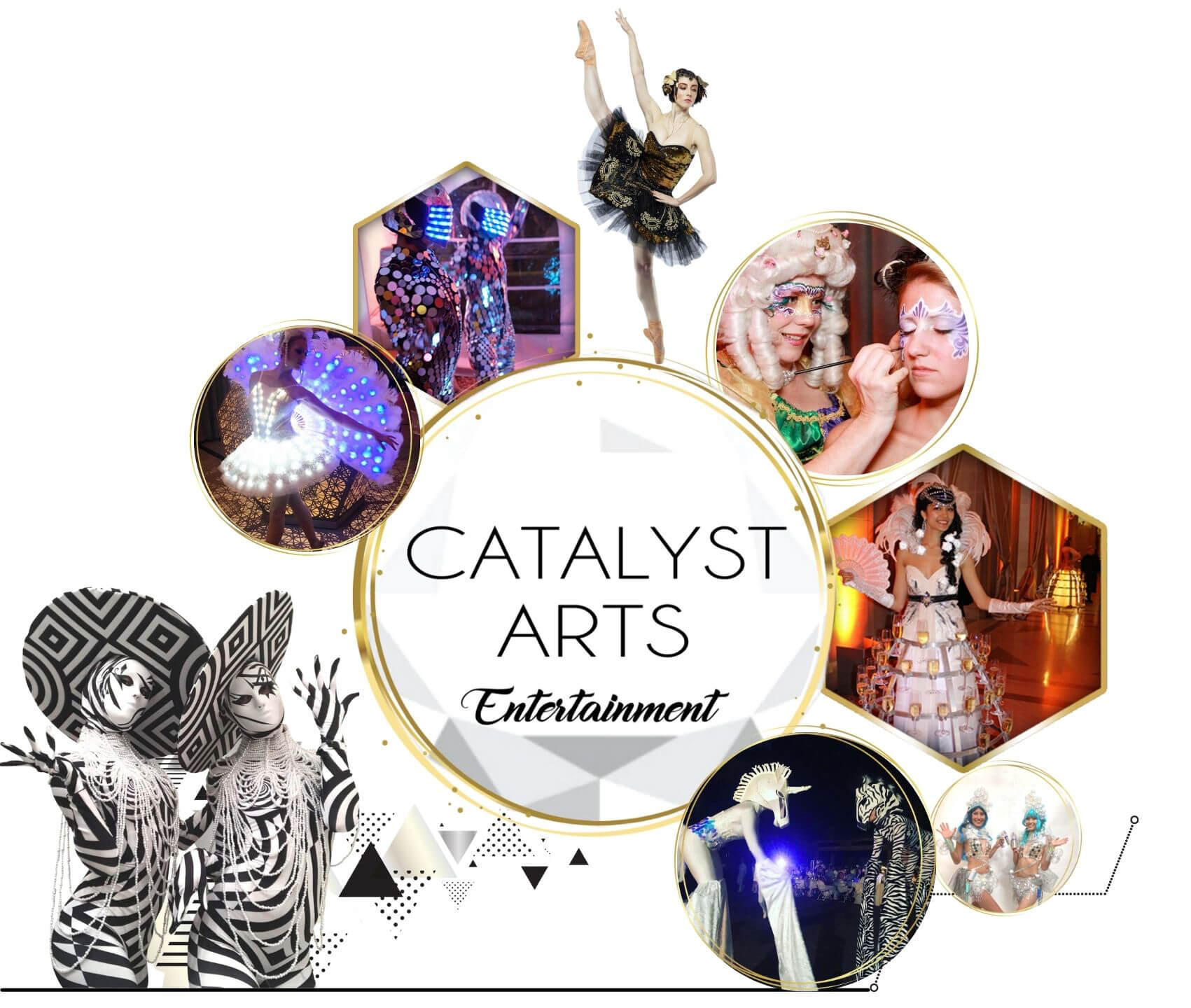 Catalyst Arts- Wow Factor Entertainment & Activations in California