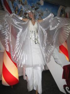 Ice Queen Stilt Walker