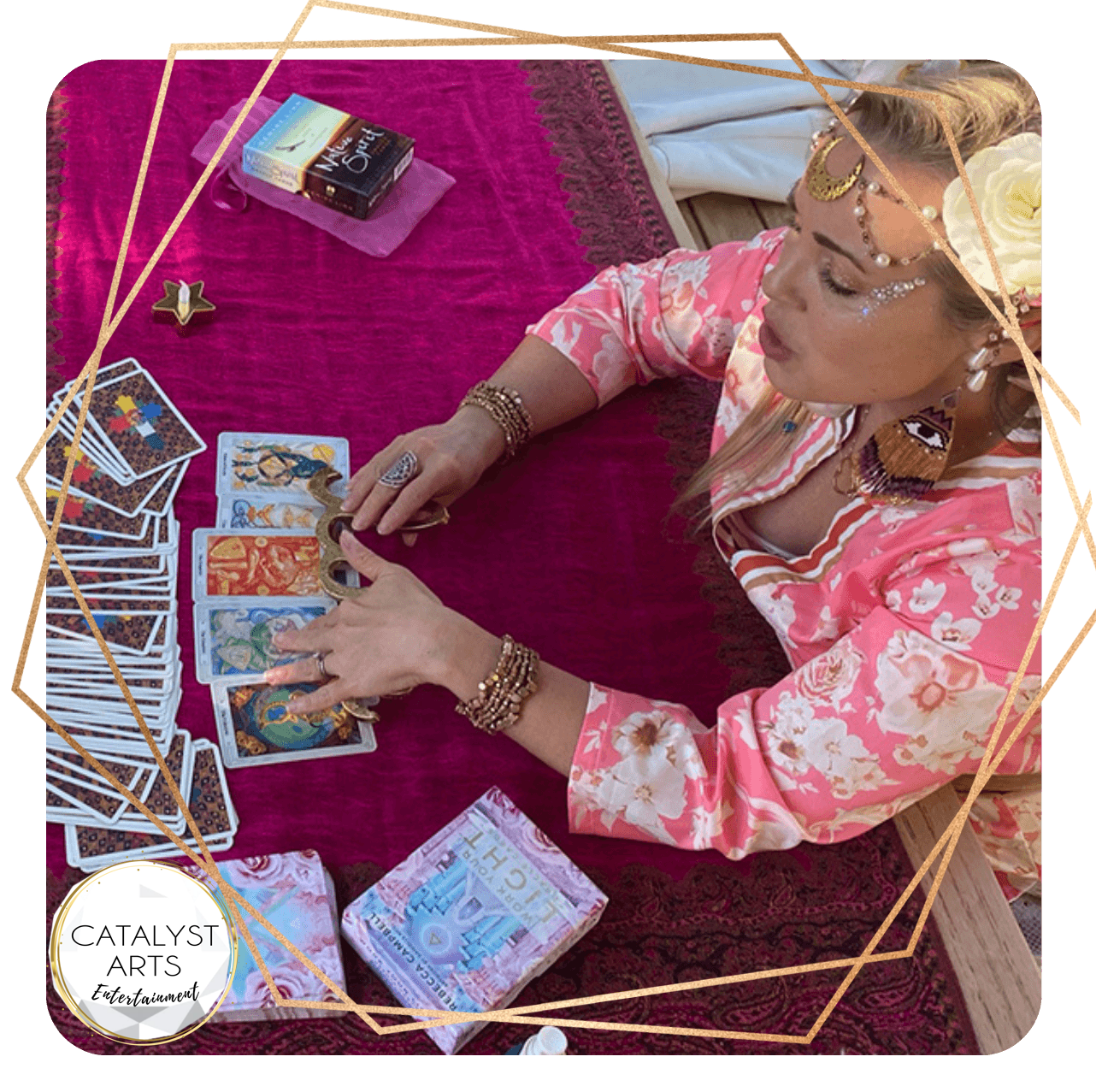 Tarot Card reader for Events in Sonoma county wine country