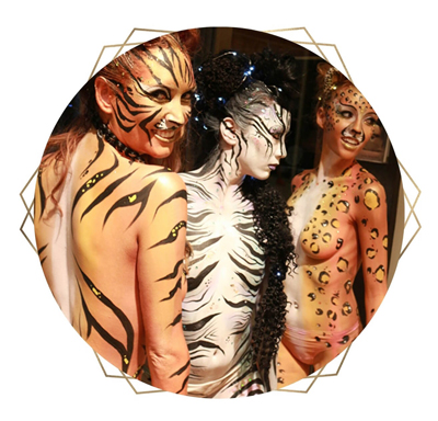 Body Painters by Catalyst Arts in San Francisco Bay Area, California
