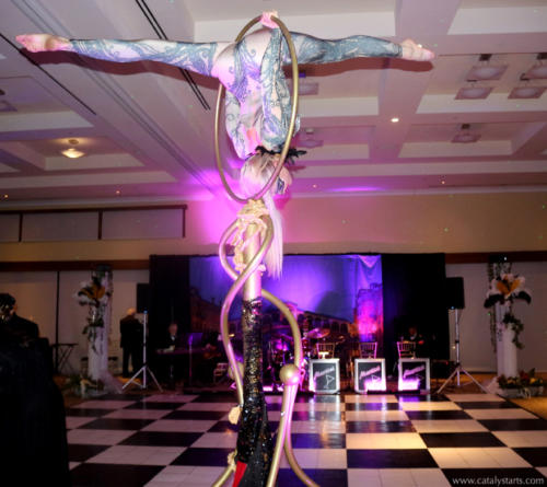 Cirque Aerialist Talent for Events by Catalyst Arts Entertainment