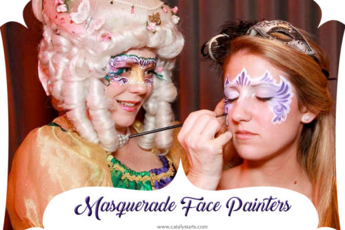 Masquerade Party Face Painter