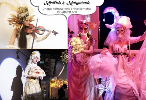 Minstrels & Masquerade Talent by Catalyst Arts