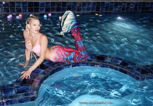 Swimming Mermaid Viva avail via Catalyst Arts