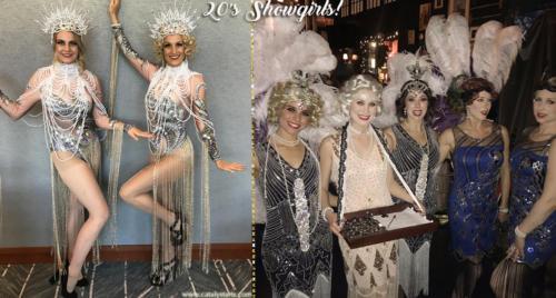 Gatsby Showgirls by Catalyst Arts