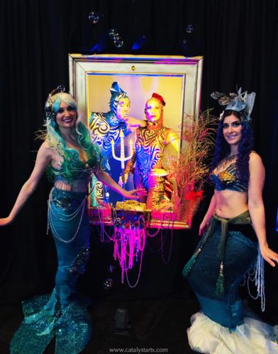 Mermaid & Aquatic Nautical Characters by Catalyst Arts